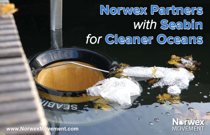 Norwex Partners with Seabin for Cleaner Oceans